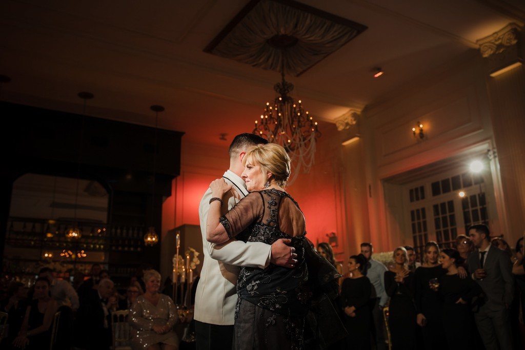 Mother Son Dance Wedding Photos in Philadelphia