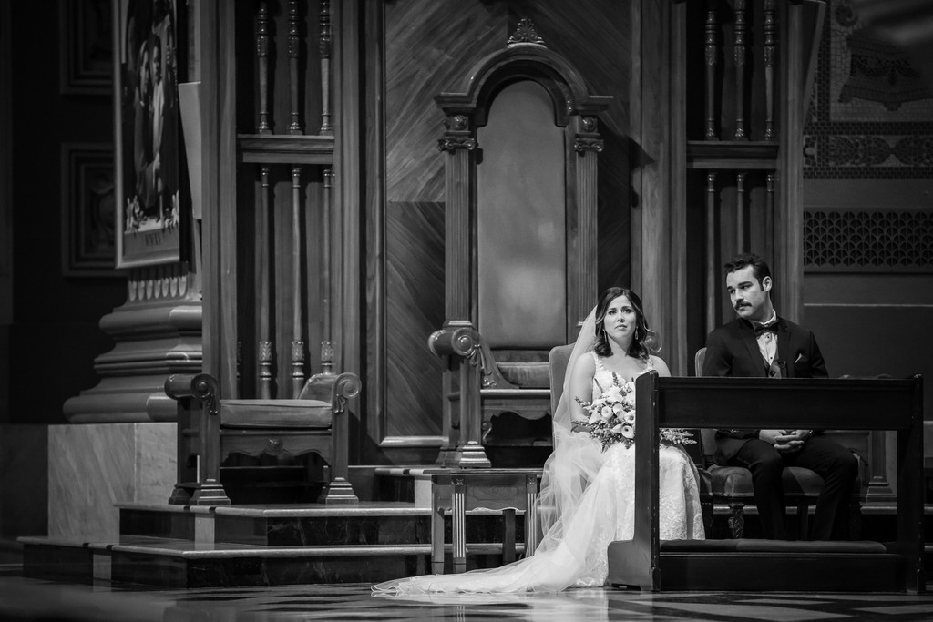 Cathedral Basilica Philly Wedding Ceremony Photographer