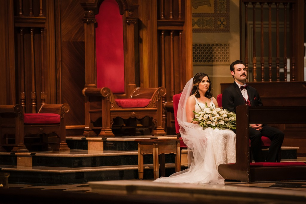 Cathedral Basilica of St. Peter and Paul Wedding Photos