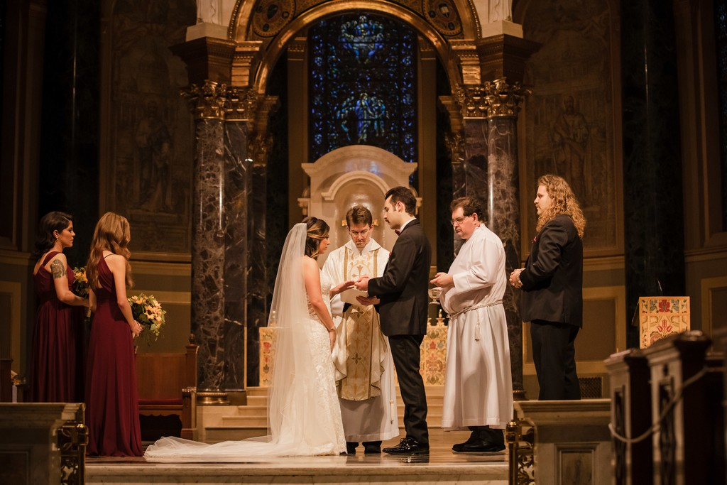Cathedral Basilica Philly Best Wedding Photographer
