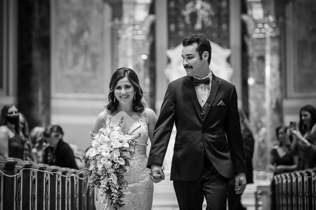 Wedding Ceremony Photos at Basilica In Philly