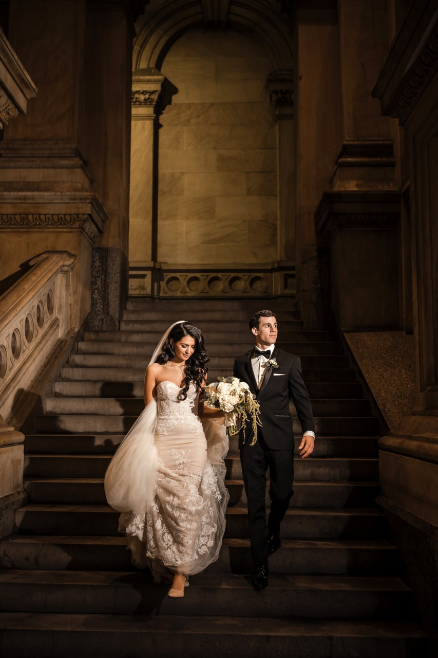 Philadelphia City Hall Wedding Photo