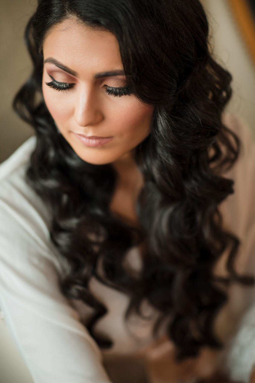 Bridal Holywood Hair Style Philly Wedding Photos