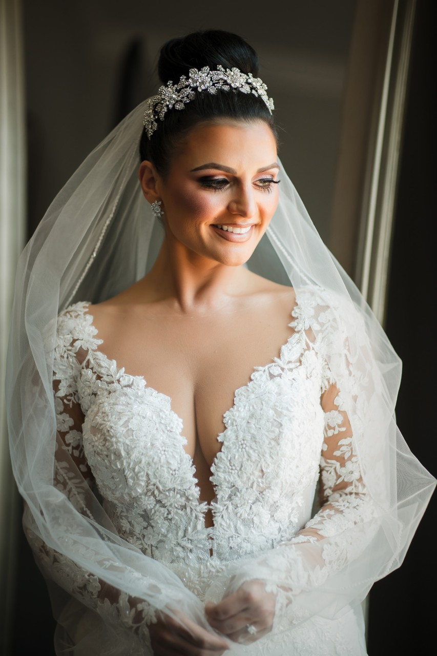 Philadelphia Winter Wedding Bridal Style