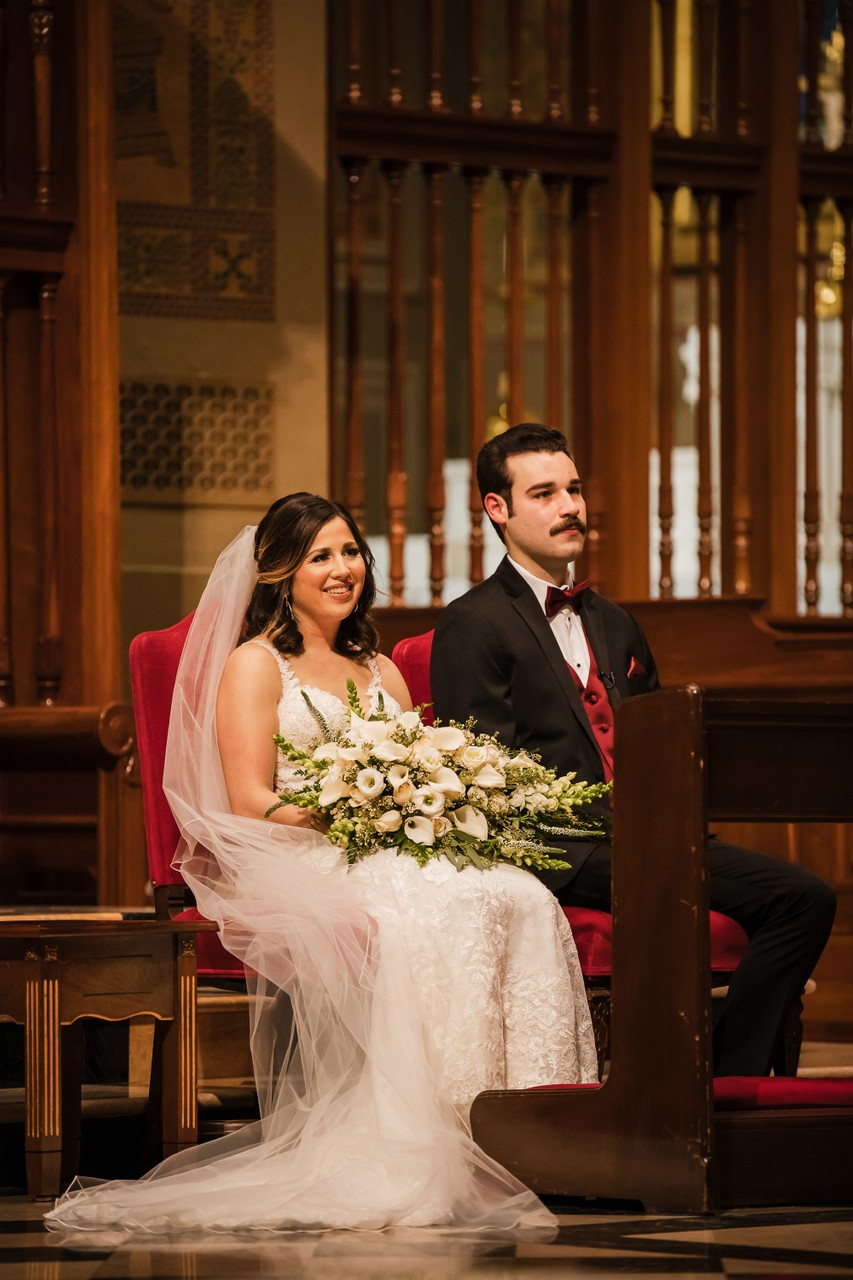 Wedding Ceremony at Cathedral Basilica in Philly