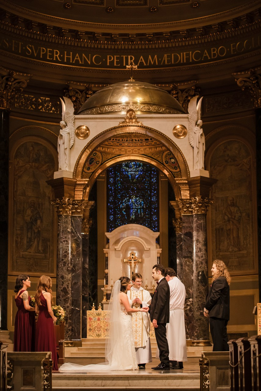 Cathedral Basilica Wedding Photographer Philly