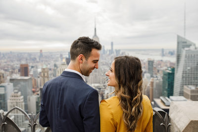 Top Of The Rock Engagement Photographer