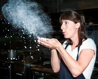 Chef Katie and the magic of maltodextrin