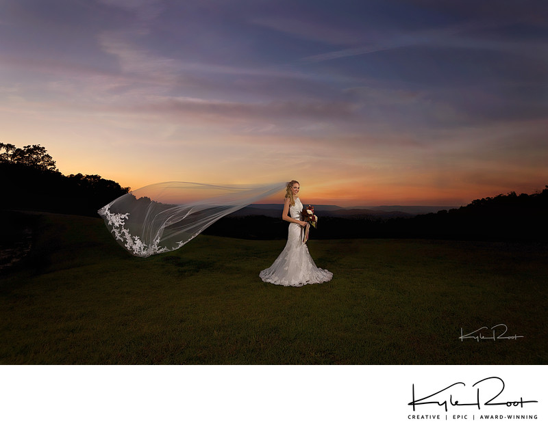 decatur wedding photographer - sunset -grant al
