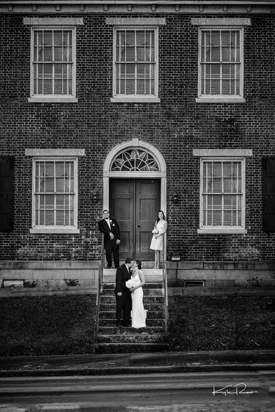 decatur wedding photographer - wedding - matt and amy - old state bank