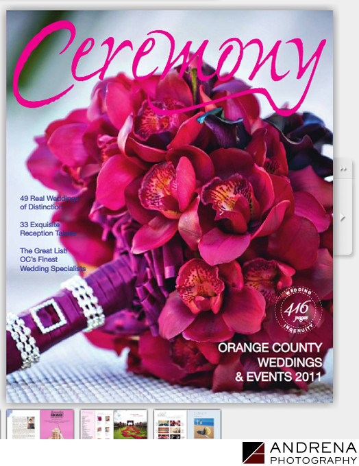 Ceremony Magazine Cover Bouquet