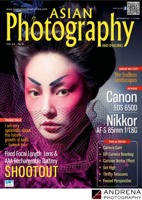 Asian Photography Magazine Cover
