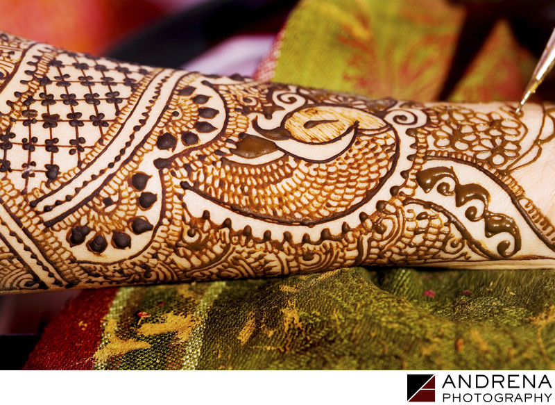 Indian Mendhi Wedding Photographer Los Angeles