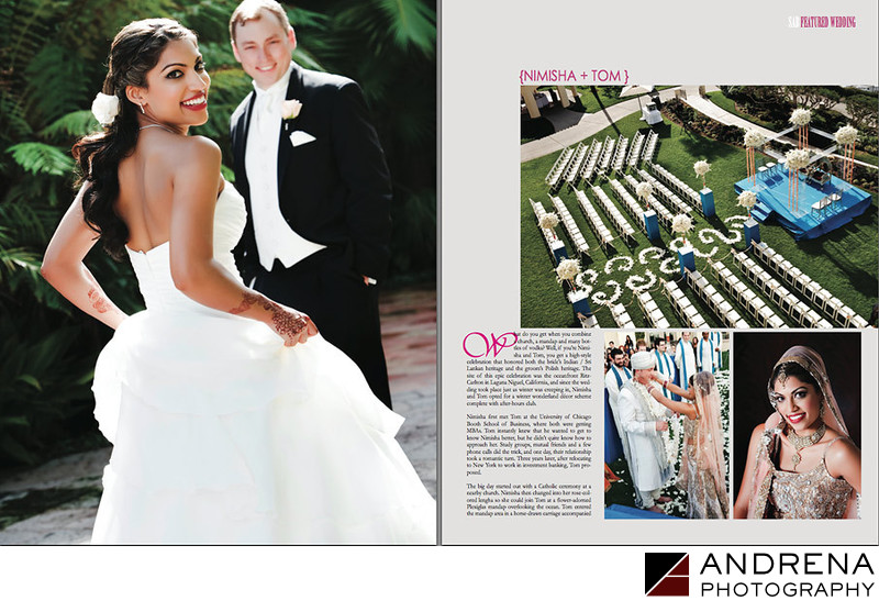 Ritz-Carlton Indian Fusion Wedding South Asian Bride Magazine