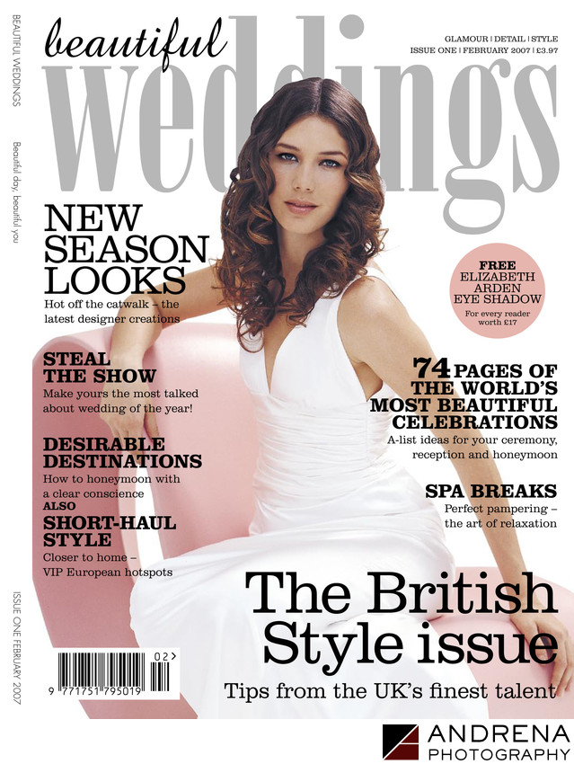 Beautiful Weddings UK Magazine Cover