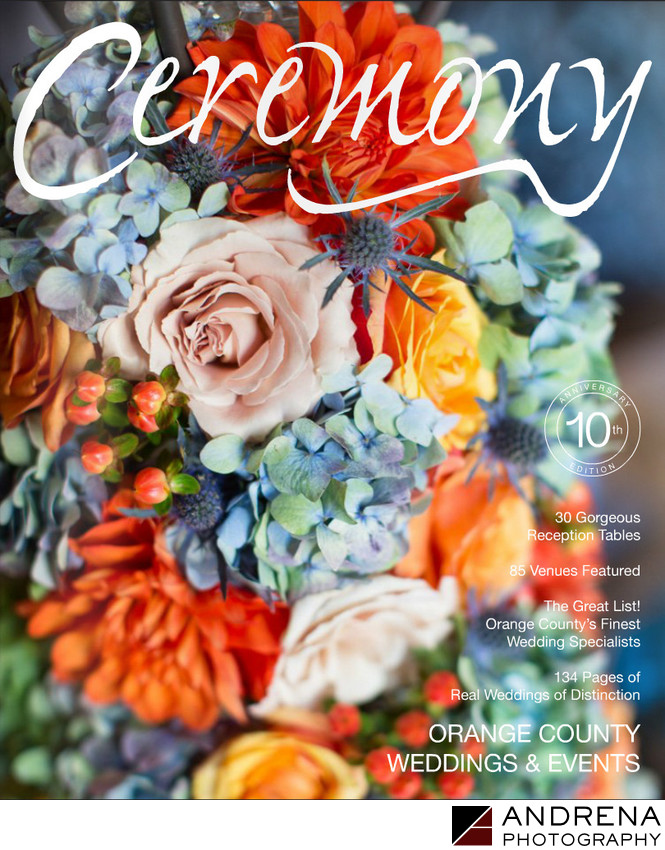Ceremony Magazine Cover Fall Colors