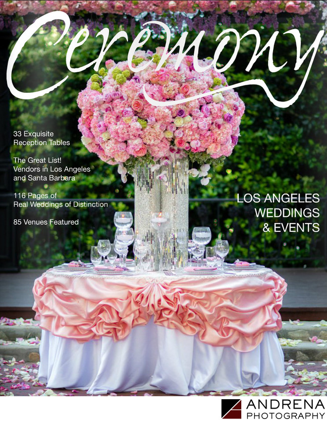 Ceremony Magazine Cover Photo