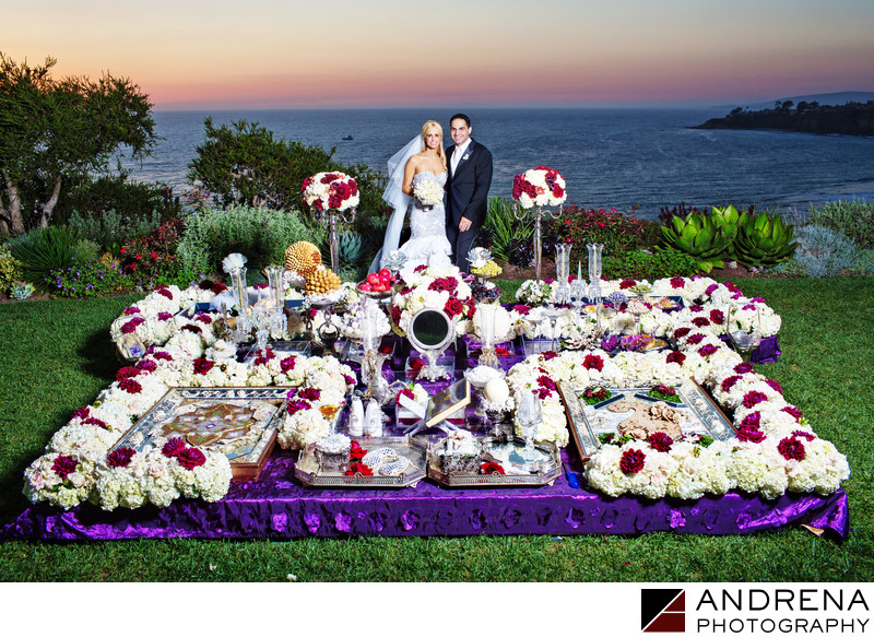 Persian Wedding Sofreh Ritz Carlton Laguna Niguel