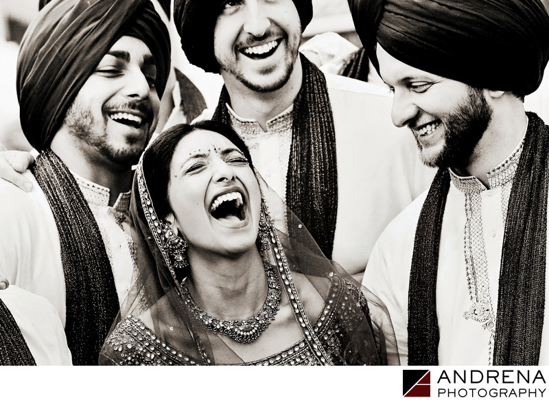 Sikh Bride Los Angeles Indian Wedding Photographer