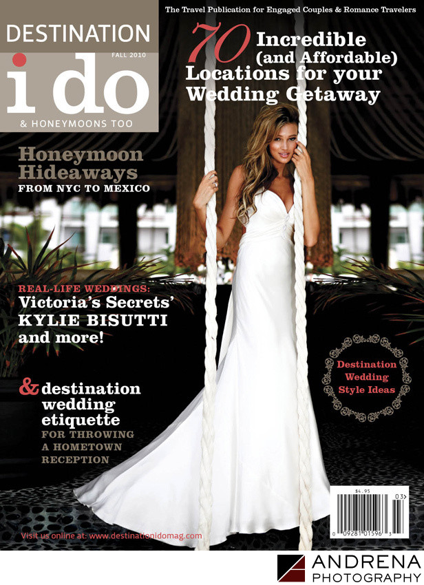 Destination I Do Wedding Magazine Cover