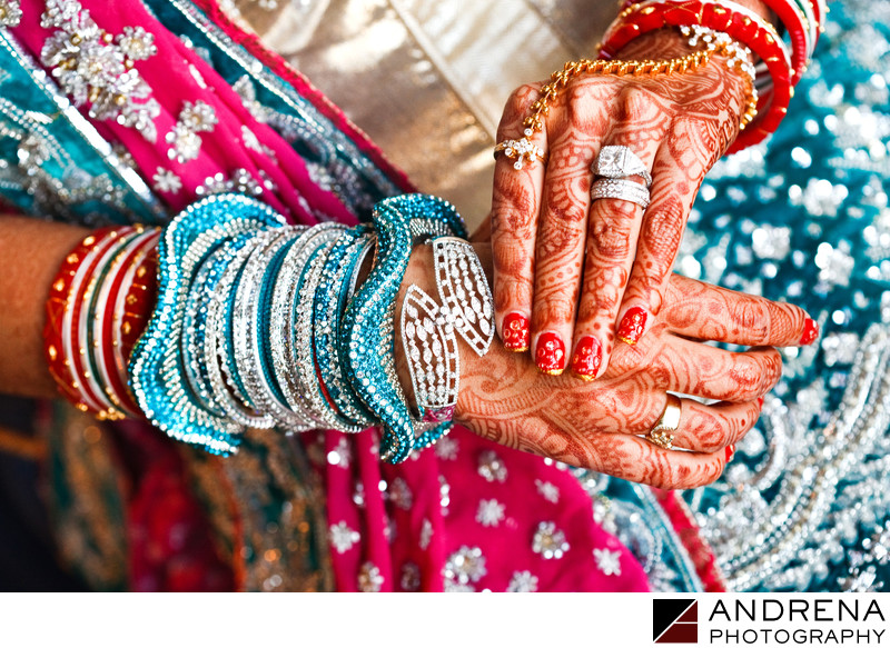 Indian Bangles Wedding Photographer Southern California