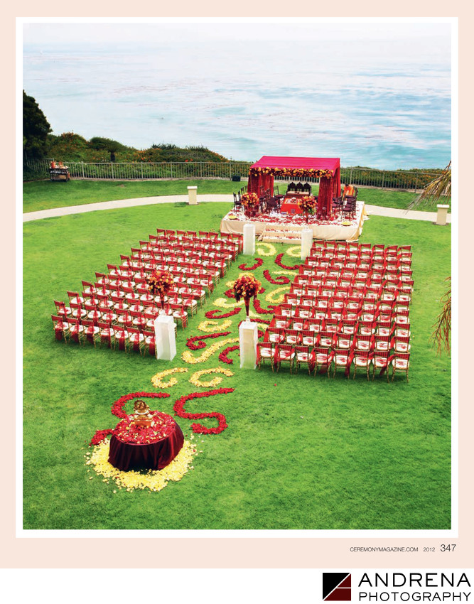 Square Root Ceremony Design Ritz Carlton Laguna