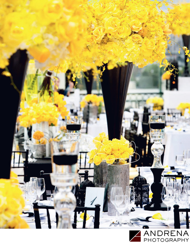 Yellow Wedding Flowers Square Root