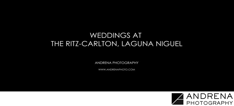 Ritz Carlton Laguna Niguel Weddings