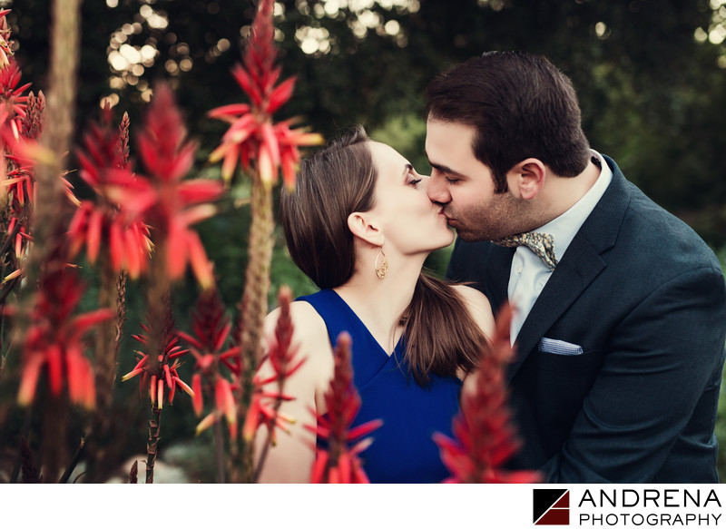 Pasadena Engagement Session Locations Arlington Gardens