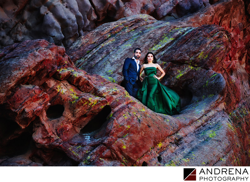 Vasquez Rocks Pre-Wedding and Engagement Photos