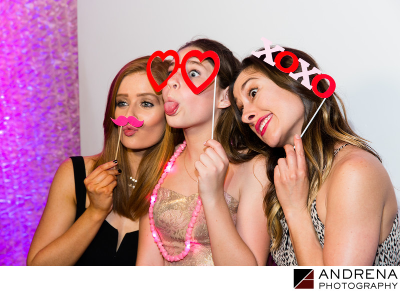 Mitzvah Party Photo Booth Photography
