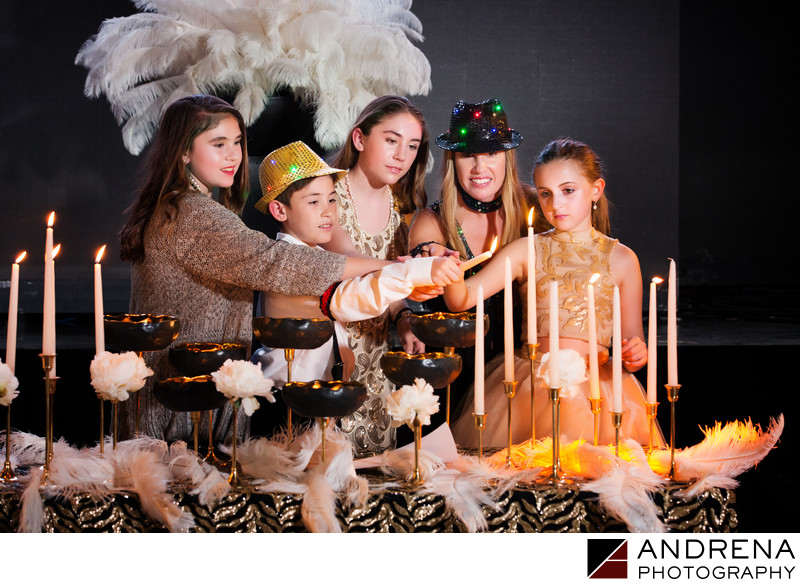 Bat Mitzvah Candle Lighting Ceremony