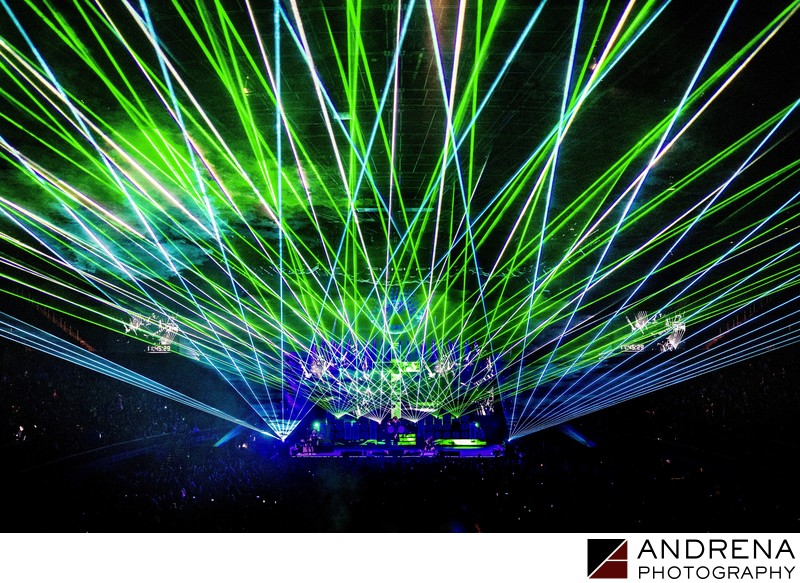 Concert Laser Show Photography Los Angeles ER Productions