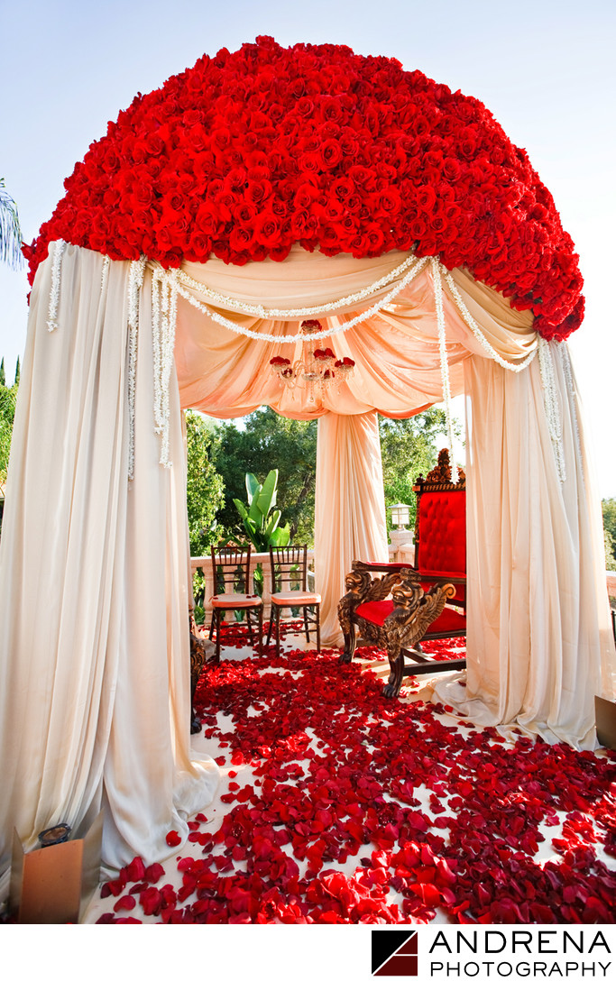 Indian Wedding Mandap Photograph