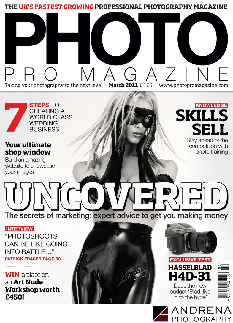 Photo Pro Magazine Cover