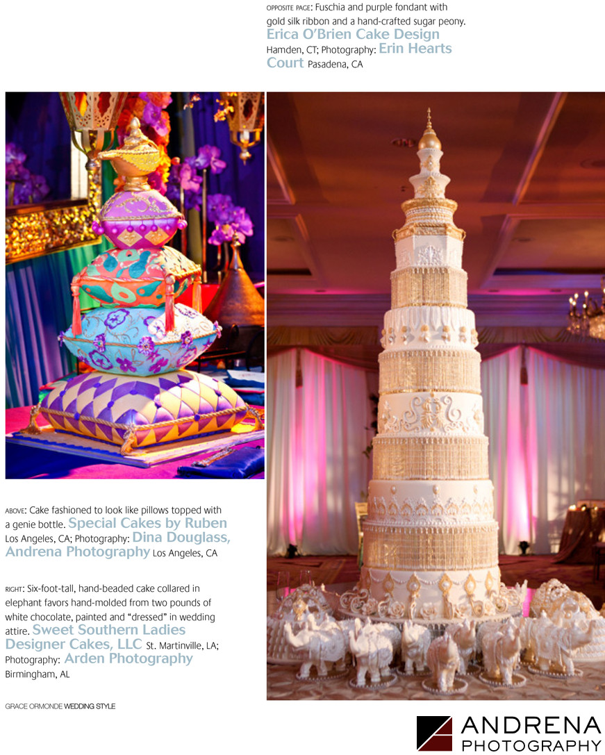 Andrena Photography Ruben's Special Cakes Grace Ormonde Wedding Style