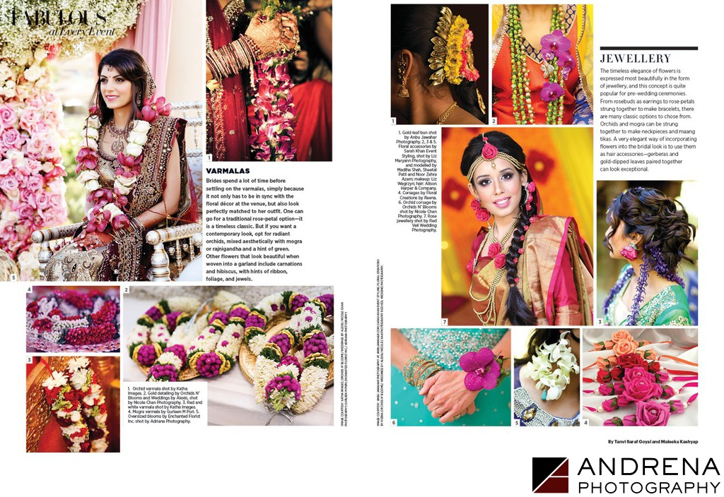 Harper's Bazaar Indian Brides