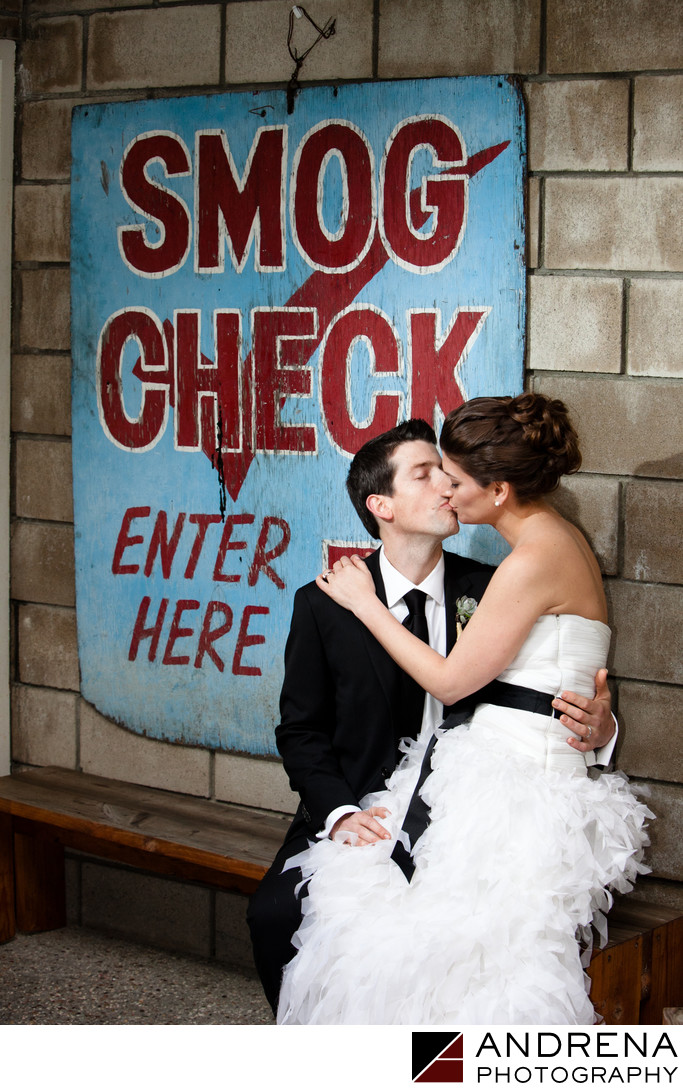 Smog Shoppe Wedding Photographers