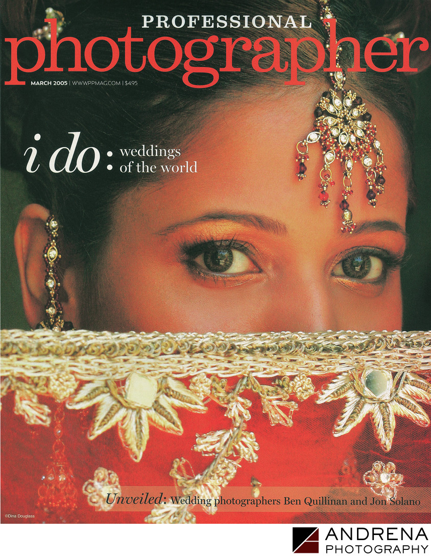 Professional Photographer Indian Bride Cover