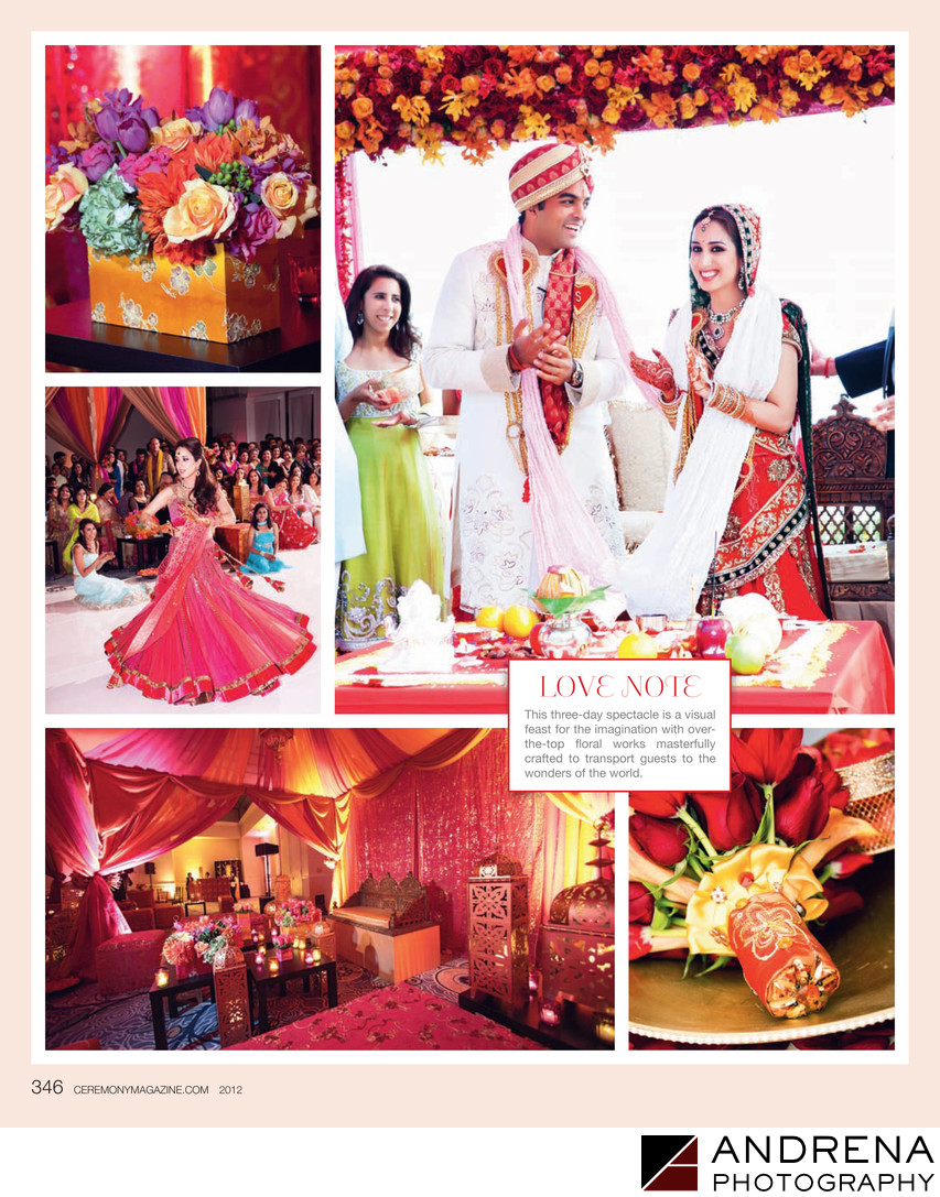 Ritz-Carlton Wedding Ceremony Magazine