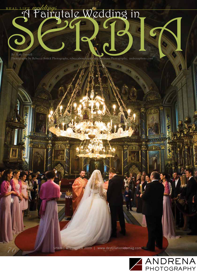 Destination I Do Magazine Serbia Wedding