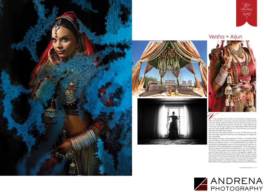 Ritz Carlton Indian Wedding South Asian Bride Magazine
