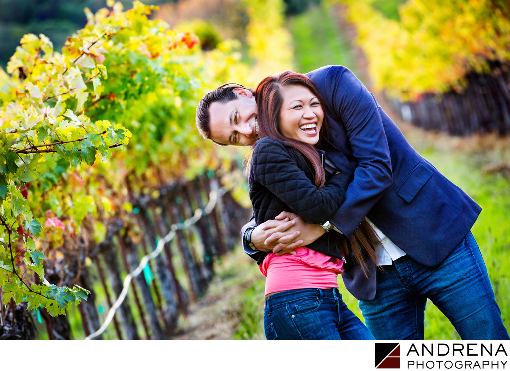 Sonoma Napa Valley Engagement Session
