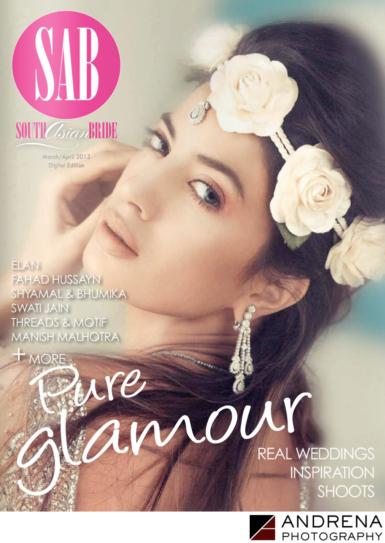 South Asian Bride Magazine Cover Spring