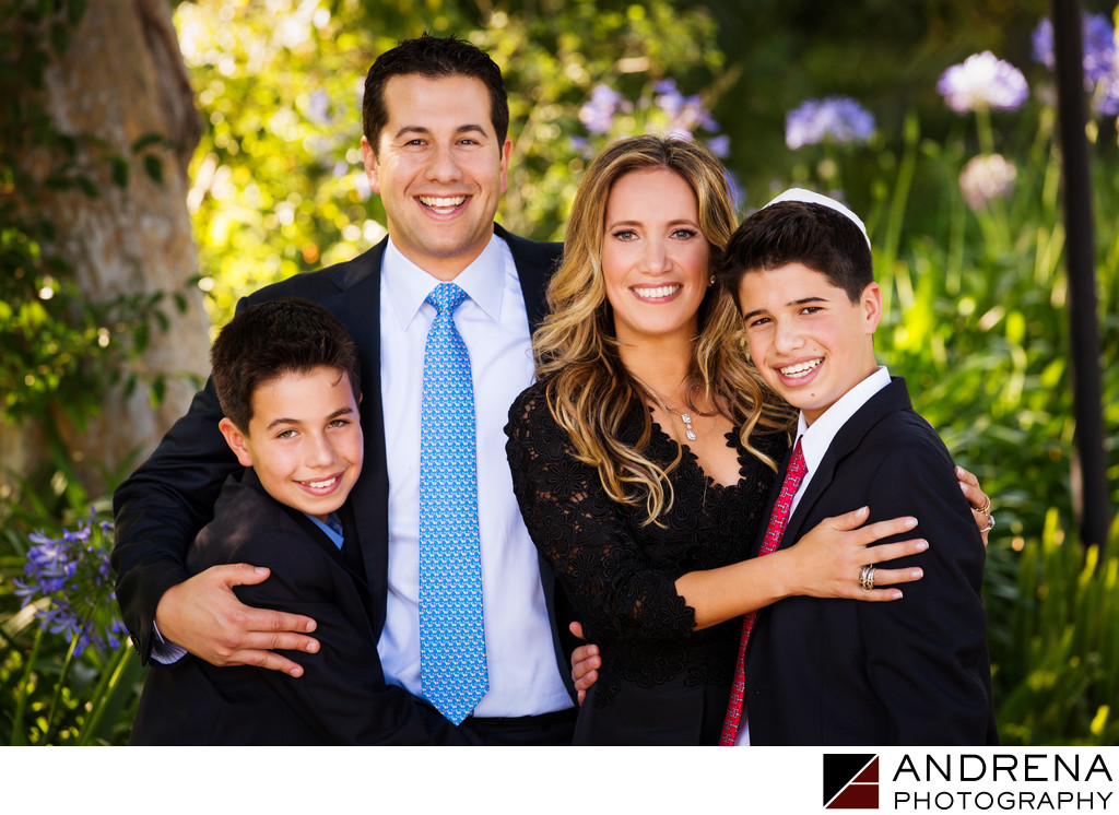 Los Angeles Family Portrait Bar Bat Mitzvah