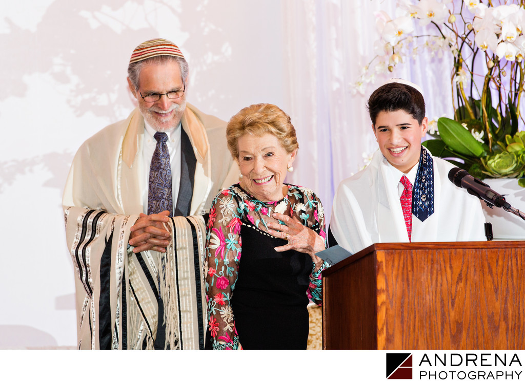Candid Bar Mitzvah Ceremony Photo Los Angeles