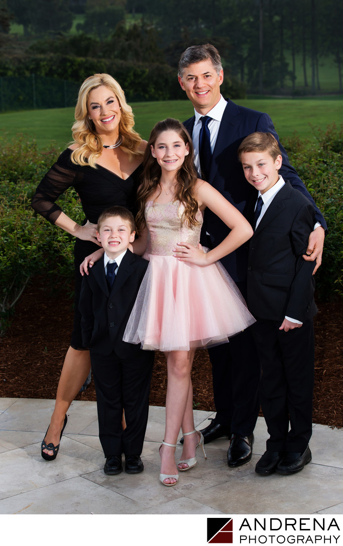 Stylish Bat Mitzvah Portrait Los Angeles