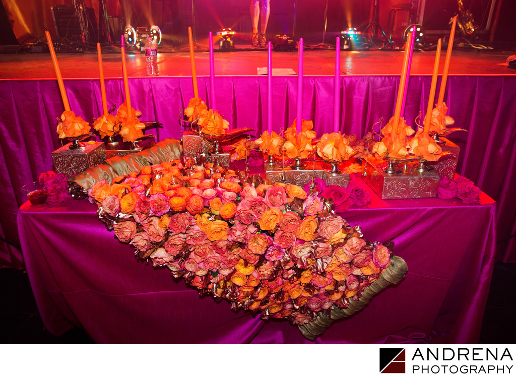 Unique Candle Lighting Setup Bat Mitzvah