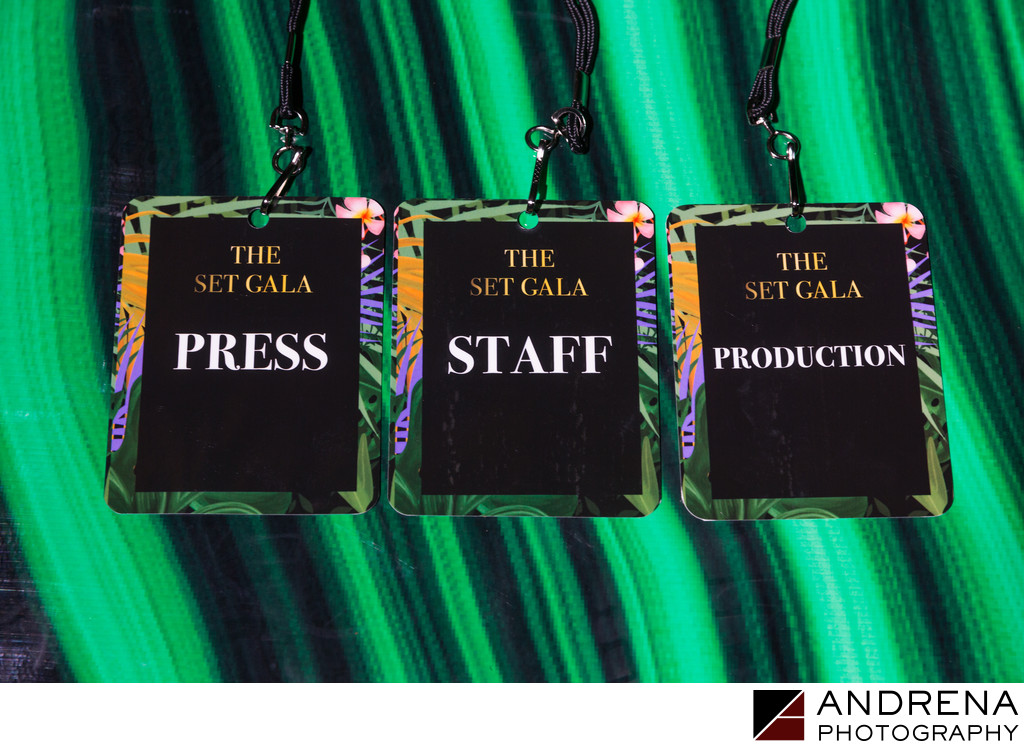 Event Branding Staff Badges The Vanity Group