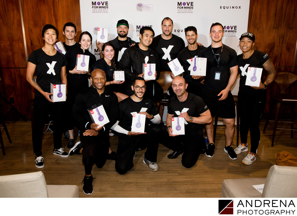 Move for Minds Charity Event at Equinox